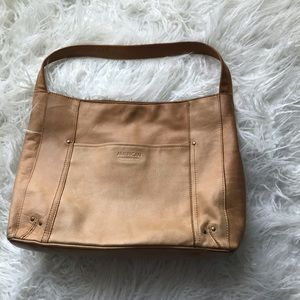 American Leather Co. Handbag Tan Hobo